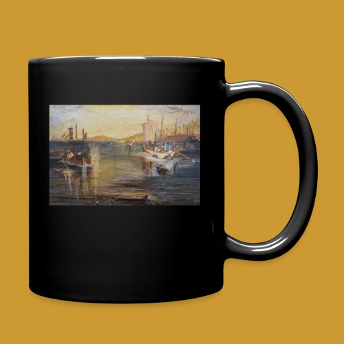 White Fishing - Mark Noble Art - Full Colour Mug