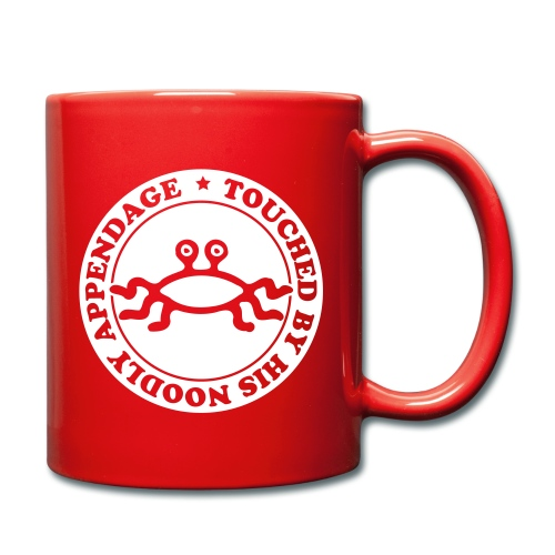 Touched by His Noodly Appendage - Full Colour Mug
