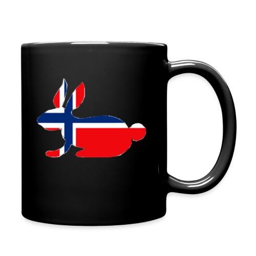norwegian bunny - Full Colour Mug
