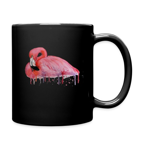 Pink Flamingo Watercolors Nadia Luongo - Tazza monocolore