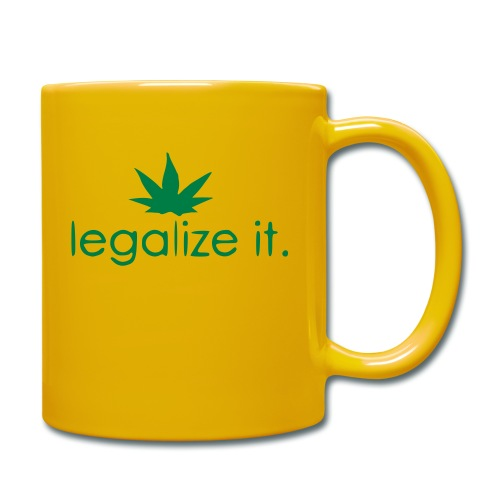 LEGALIZE IT! - Full Colour Mug