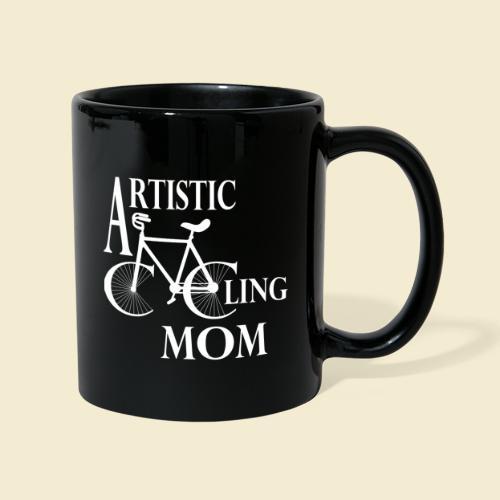 Kunstrad | Artistic Cycling Mom white - Tasse einfarbig