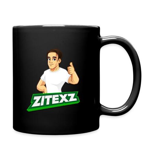 ZitexZ Logo - Ensfarvet krus