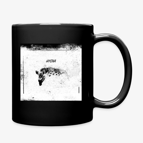 Hyena blackwhitecontest - Enfärgad mugg
