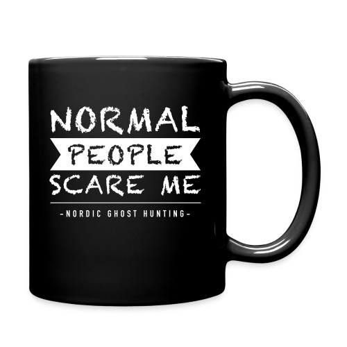 Normal people scare me - Enfärgad mugg