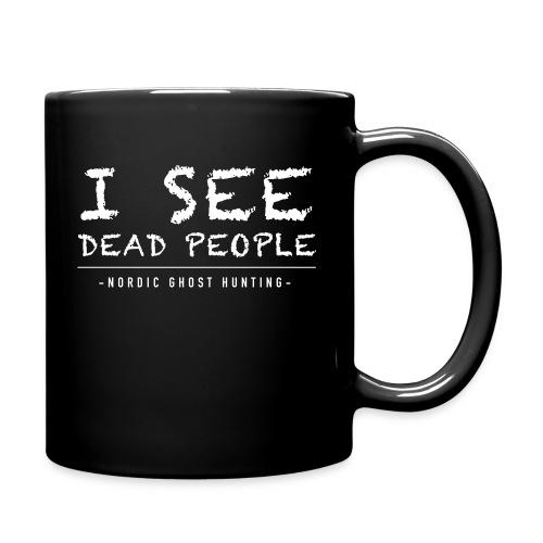 I see dead people - Enfärgad mugg