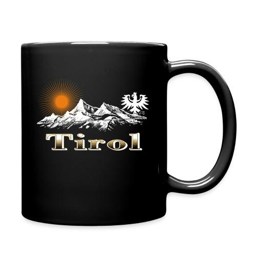 Tiroler Berge - Tasse einfarbig