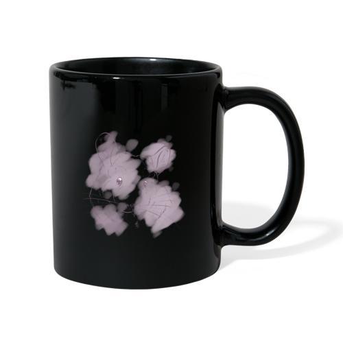 Violet splash chinchilla 2 - Yksivärinen muki