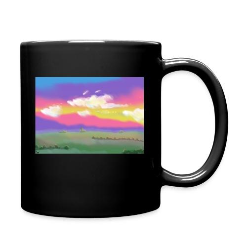 Panorama - Tasse einfarbig
