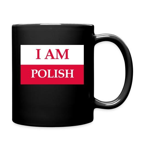 I am polish - Kubek jednokolorowy