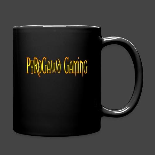 PyroGawd Logo Text - Tasse einfarbig
