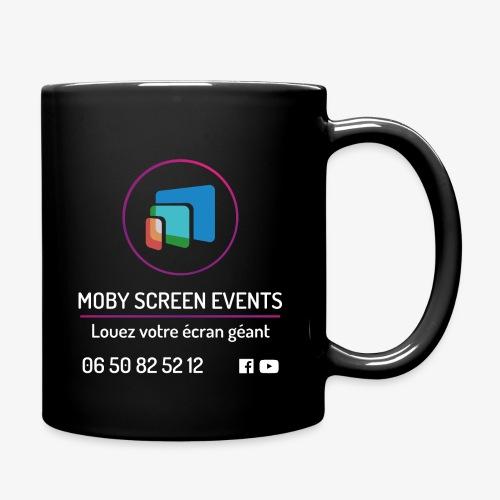 LOGO-MobyScreen+Enseigne+ - Mug uni