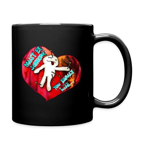 Be my Valentine - Tasse einfarbig