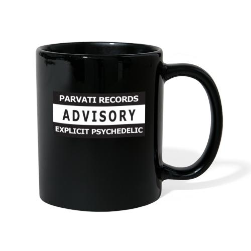 Advisory - Explicit Psychedelic - Full Colour Mug