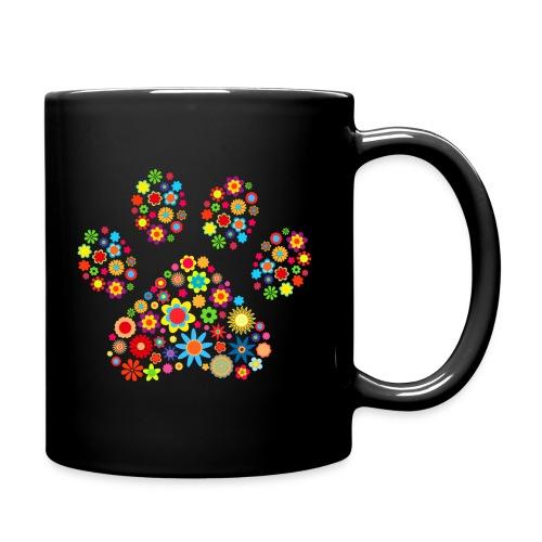 Vorschau: flower dog paw cat - Tasse einfarbig