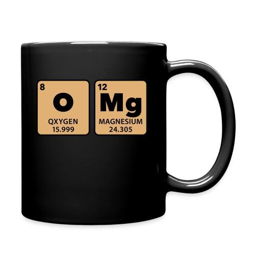 periodic table omg oxygen magnesium Oh mein Gott - Full Colour Mug