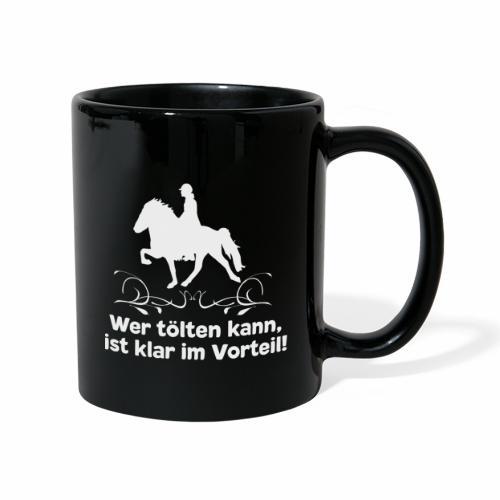 Islandpferd T-Shirt Isländer Tölt Pferdespruch - Tasse einfarbig