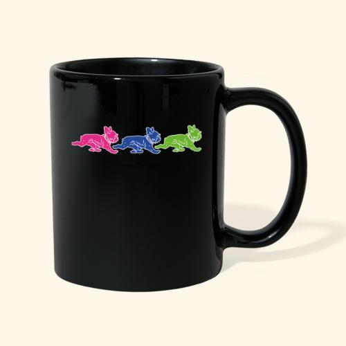 frenchies multicolor - Mug uni