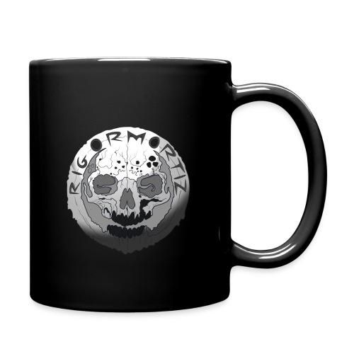 Rigormortiz Black and White Design - Full Colour Mug