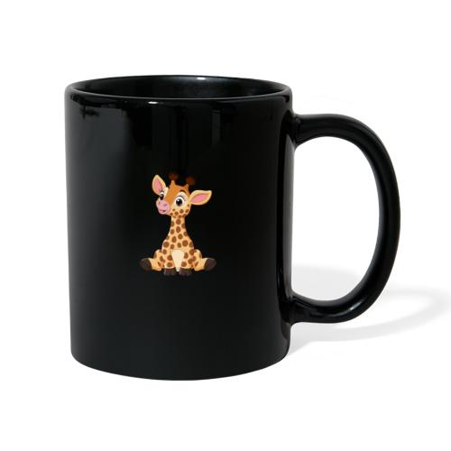 Urocza żyrafa - Kubek jednokolorowy