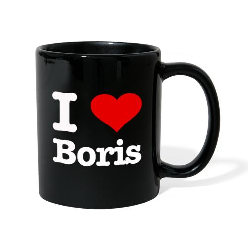 I love Boris - Tasse einfarbig