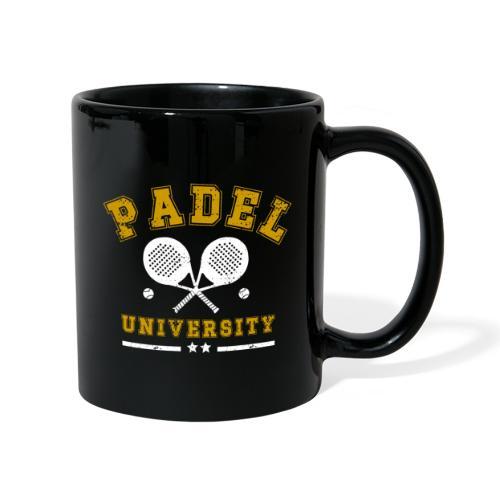 Padel University Vintage - Enfärgad mugg