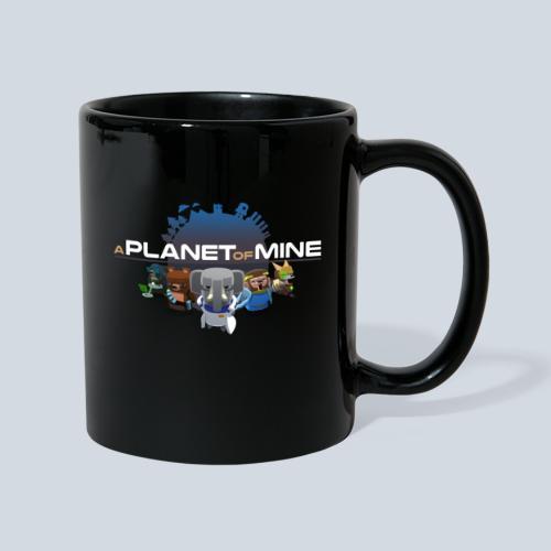 logo planetofmine dark HD - Mug uni
