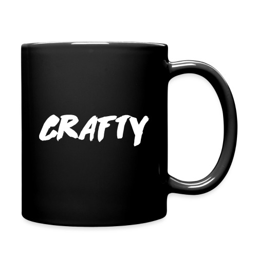 Crafty Logo Mug White png - Full Colour Mug