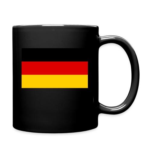 2000px Flag of Germany svg - Tasse einfarbig
