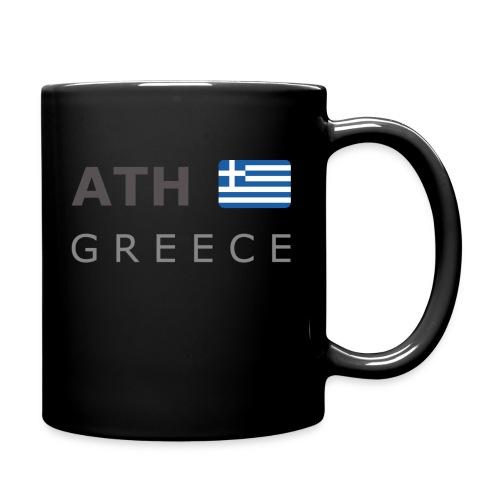 ATH GREECE dark-lettered 400 dpi - Full Colour Mug
