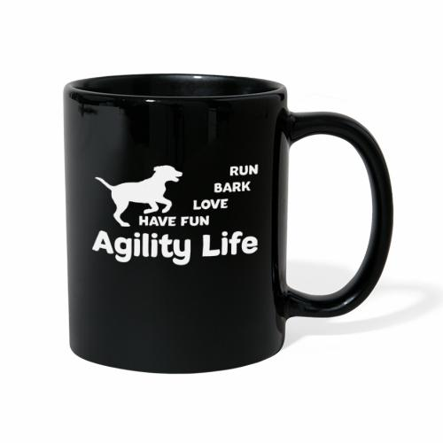 Agility Life T-Shirt Hundesport - Tasse einfarbig