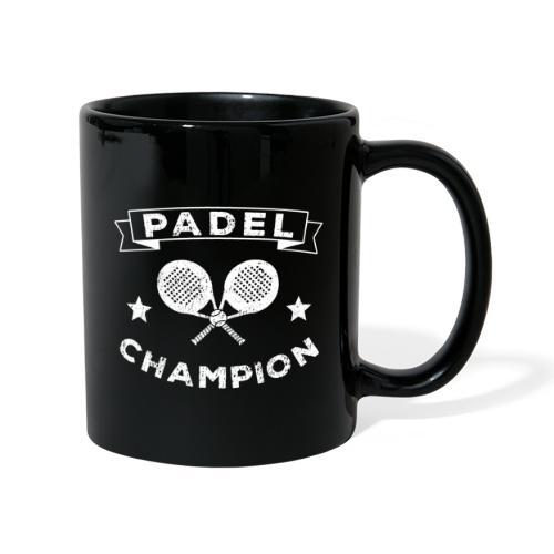 The Paddle Tennis Champion Vintage Stil - Enfärgad mugg