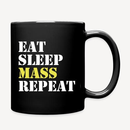 EAT SLEEP MASS REPEAT - Full Colour Mug