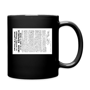 Irish proclamation - Full Colour Mug