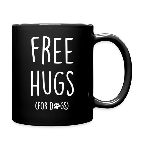 Vorschau: free hugs for dogs - Tasse einfarbig