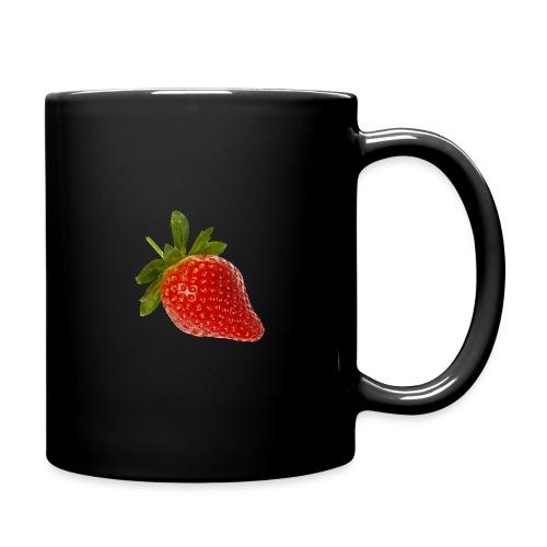 Erdbeere - Tasse einfarbig