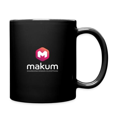 MAKUM Logo ja teksti - Yksivärinen muki