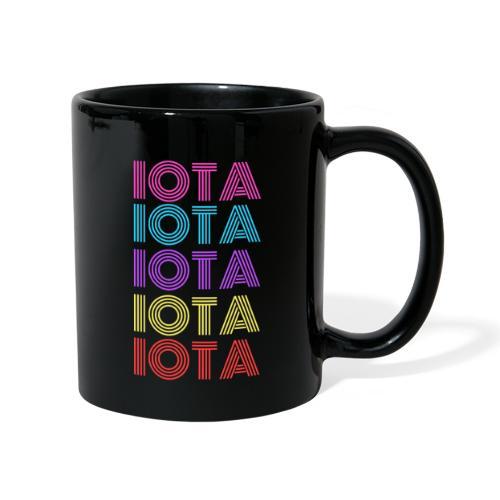 IOTA RETRO - 80s Kryptowährung - Tasse einfarbig