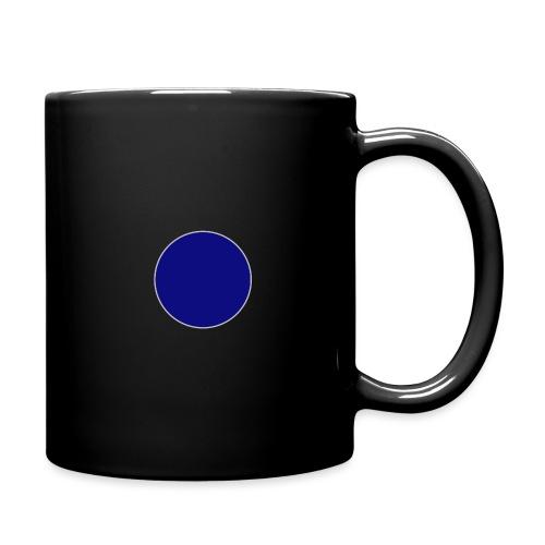 Blauer Kreis - Tasse einfarbig