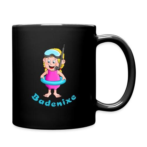 Badenixe - Schwimmerin - Tasse einfarbig