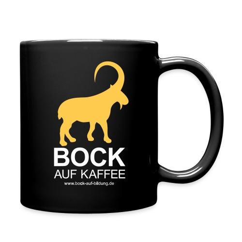 BOCK AUF KAFFEE - Tasse einfarbig