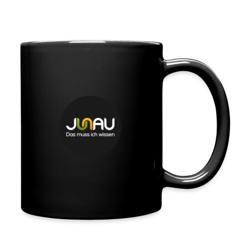 JUNAU - Das muss ich Wissen (rund) - Tasse einfarbig