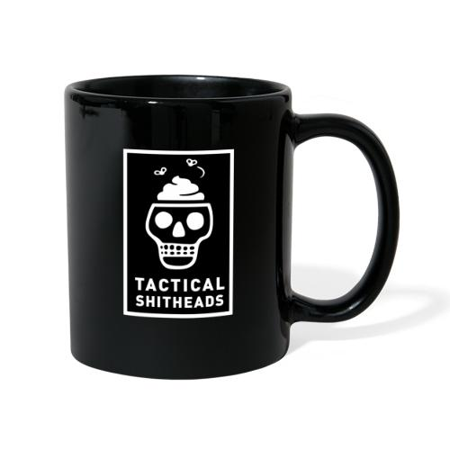 Tacshit Shitheadskull - Tasse einfarbig
