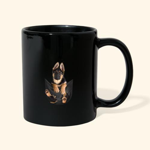 Schäferhund - Tasse einfarbig
