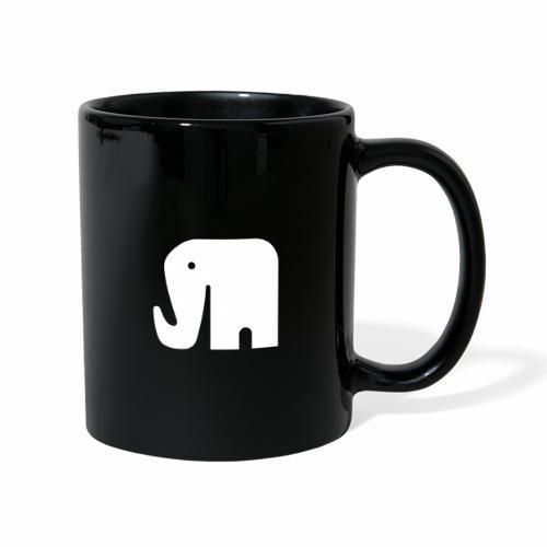 DAF ELEPHANT - Ensfarvet krus