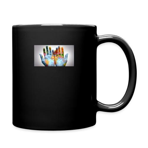 Hands of the world - Enfärgad mugg