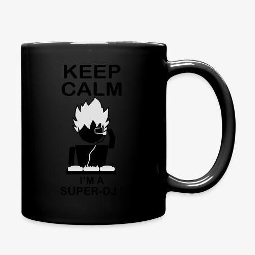 KEEP CALM SUPER DJ B&W - Mug uni