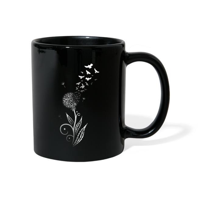 Cup Mug Der Becher Löwenzahn Pusteblume
