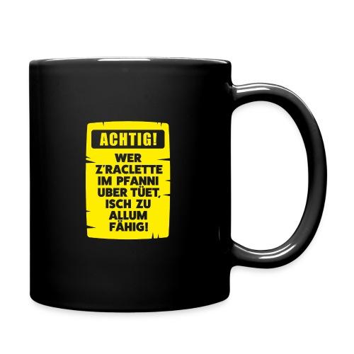 ACHTIG RACLETTE-PFANNI - Tasse einfarbig