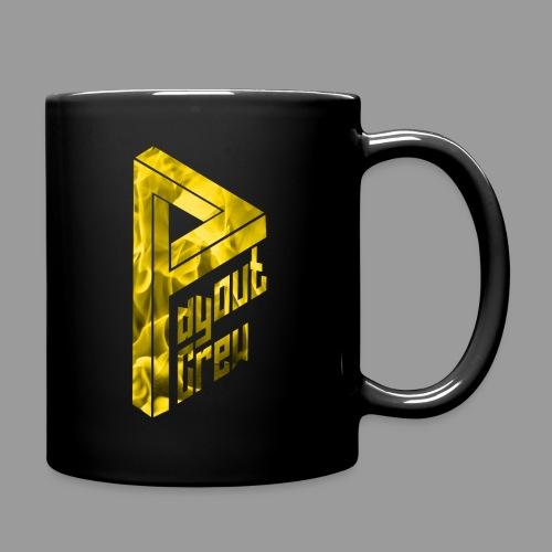 Flammen gold - Tasse einfarbig